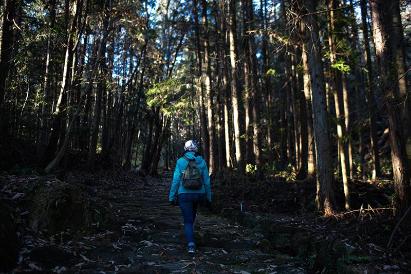เดินช้าๆและปลดปล่อยให้จิตใจได้ล่องลอยได้ออกเดินทาง