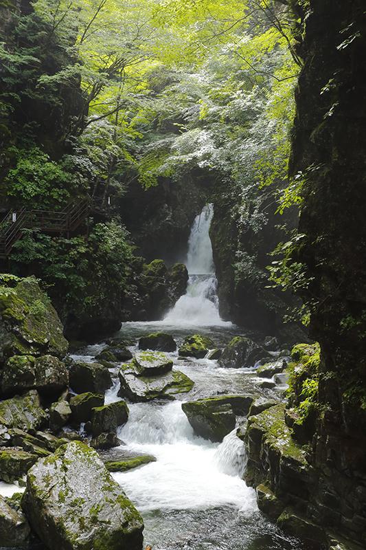 Hida-Osaka Waterfalls Trekking