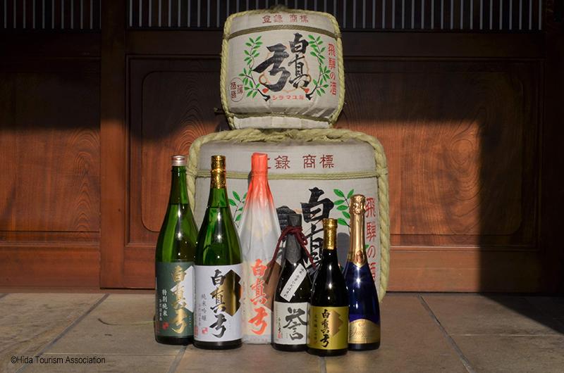 Sake Brewery Tour in Hida