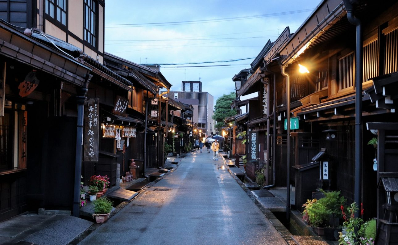 Takayama is beautiful even at night