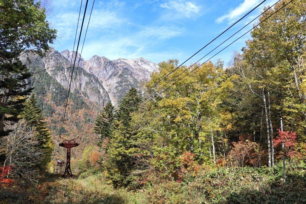 Autumn foliage in Shinhotaka