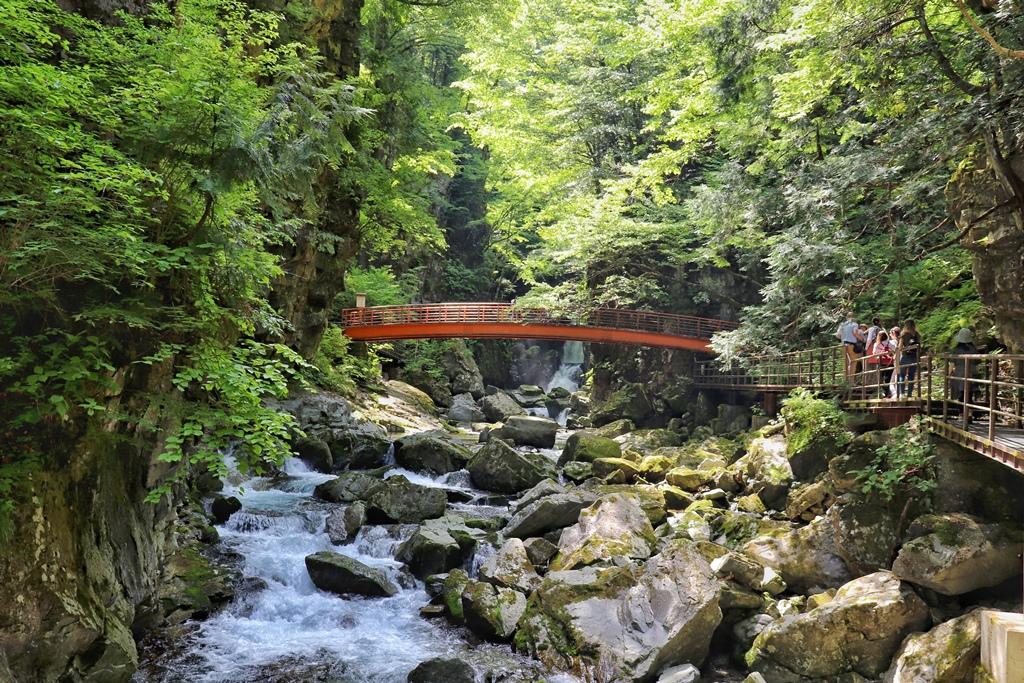 Hida Osaka Falls