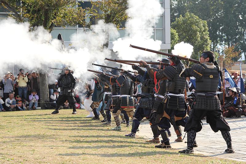 Festival della battaglia di Sekigahara / Festival de la batalla de Sekigahara