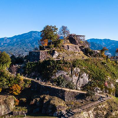 Ruinas del castillo de Naegi
