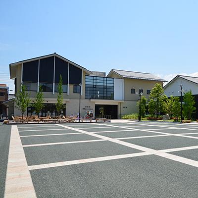 sala espositiva del Oku no Hosomichi Musubi no Chi